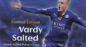 Walkers vardy salted crisps