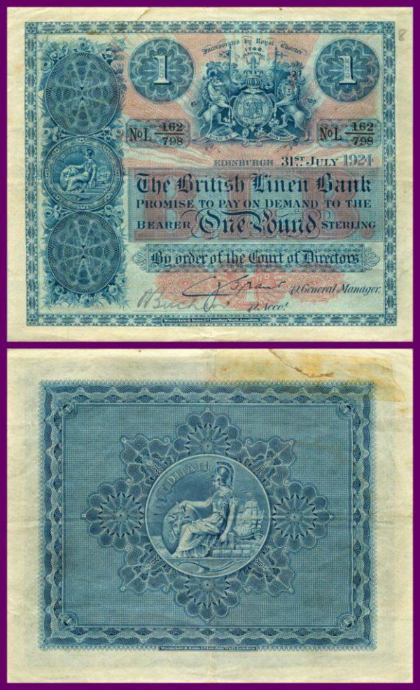 british linen bank 1924