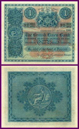 british linen bank 1916