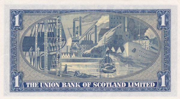 £1 The Union Bank of Scotland