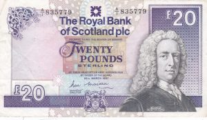 £20 royal bank of scotland