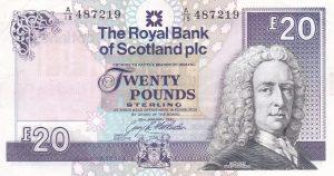 £20 royal bank of scotland