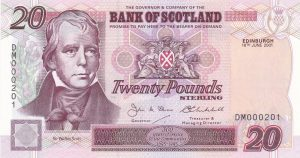 £20 Bank of scotland